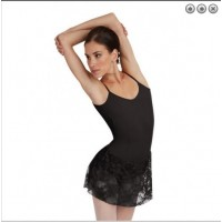 Capezio black camisole with skirt