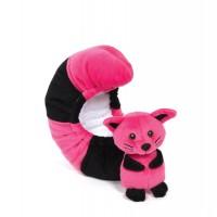 Protège lames Queue chaton rose