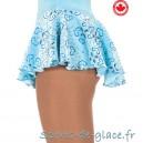 Jerry's Filigree glitter skirt - Ice Blue