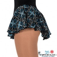 Jerry's black Filigree glitter skirt