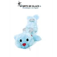 Protège lames bébé phoque bleu