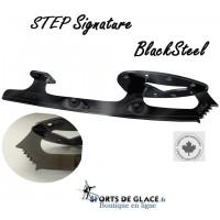 Lames de patins Noires Step Black Steel