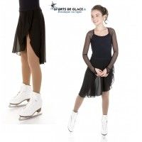 Xpression black ice dance skirt