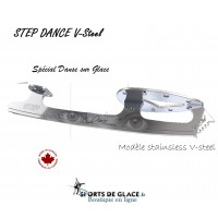 STEP V steel Ice Dance Blades