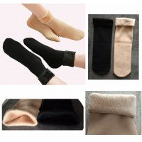 warm fleece socks