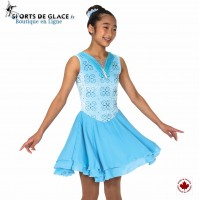 Glittering Glaciers Dance Dress
