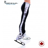 Xpression black n White SK8 legging
