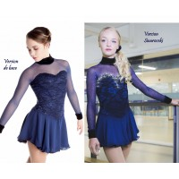 Elite Navy skating dress