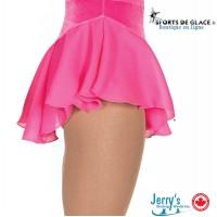 Pink Single Georgette Skirt
