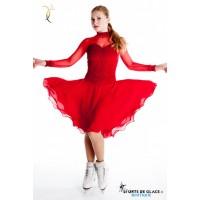 Robe de danse Silver Star