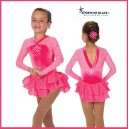 Ooh La Lace Dress- Warm Pink