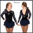 Ooh La Lace Dress- Navy Blue