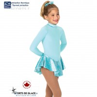 Aqua Fancy Fleece Dress
