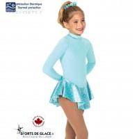 Aqua Fancy Fleece Dress