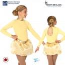 Soft Gold Fleece Dress