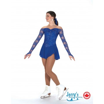 Jerry's Lux blue Skating Dress Adult M