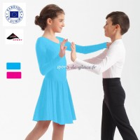 Robe de danse lycra couleur