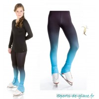 Legging de patinage dégradé Bleu