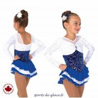 Snowy Sapphire Dress