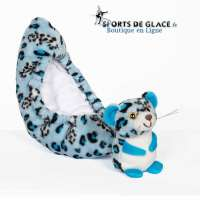 Blue Leopard Critter Tails Covers