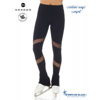 Mondor Black Supplex Mesh pants