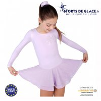 Girl classical skating dress