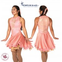 Honey Rose Dance Competition Dress