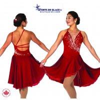 Garnet Glam Dance Dress