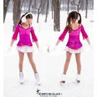 Fuschia Ice Princess Dress