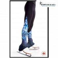 Blue Sparkles fleece skating pants