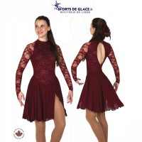 Dubonnet Dance Dress