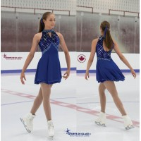 Ice Skating Dress Cobaltica