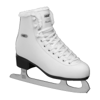 Roces White Eco Fur Ice skates
