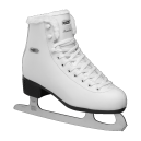 Roces White Eco Fur Ice skates