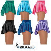 Twinkle Shimmer Velvet Skirt