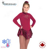 Robe de patinage polaire Rubis Gold Dust