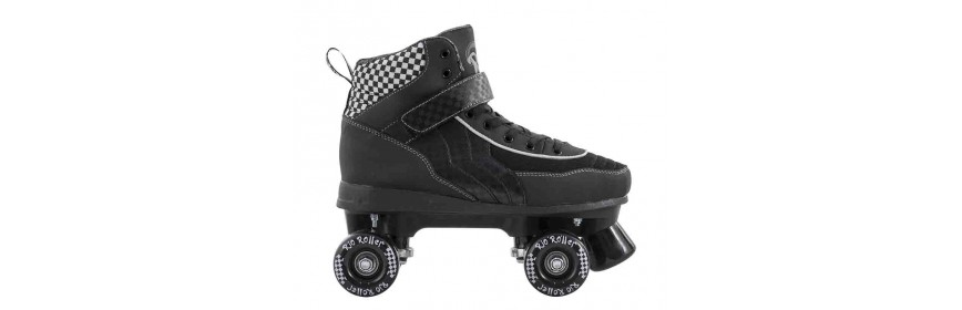 Quad skates, in line skates